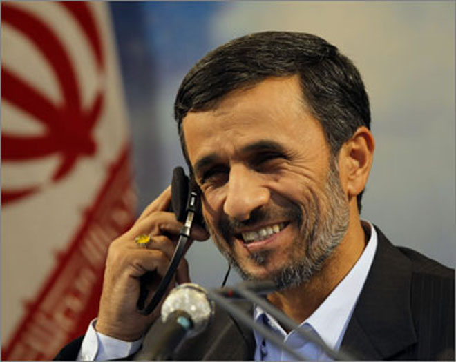 Ahmadinejad: Strongly against oppressing youth and women