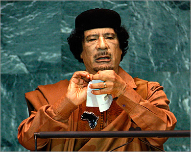 US official apologizes for remarks about Gaddafi