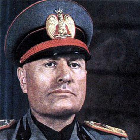 Italy's Mussolini was British secret agent: report
