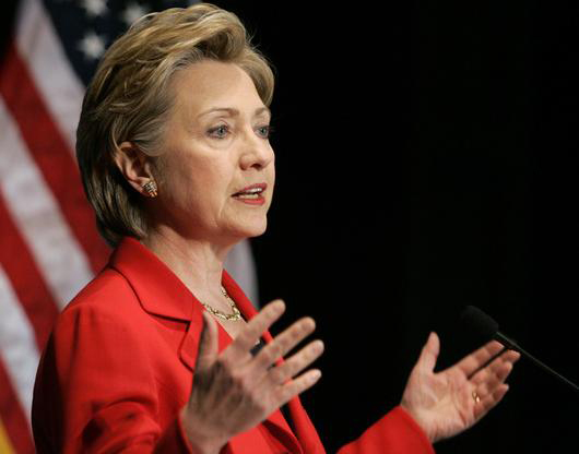 Clinton: We won't yield on demand Iran reveal nuclear program