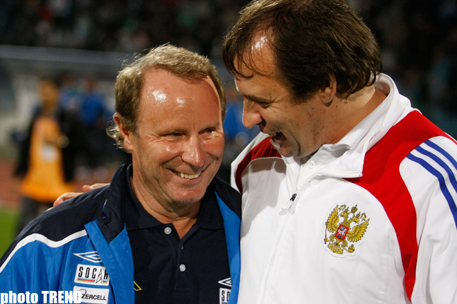 Azerbaijan-Russia match ended draw 1:1 (PHOTO) - Gallery Image