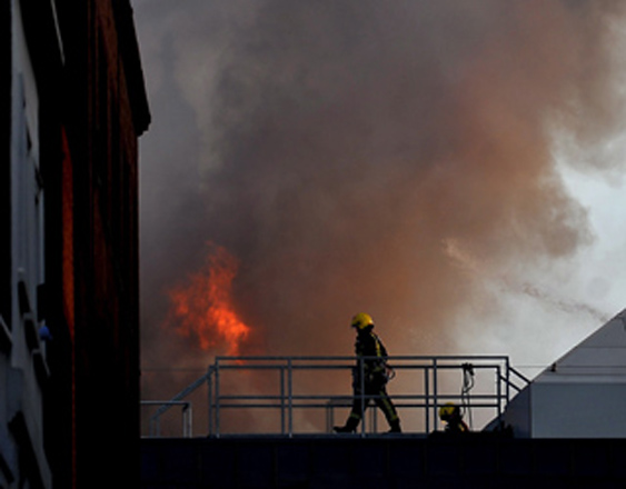 Fire breaks out in plant in Istanbul's industrial area