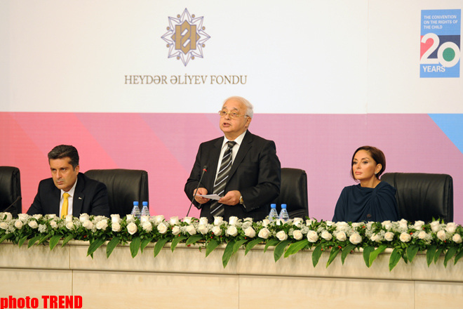 Children are future of Azerbaijan. Let's not to be indifferent towards their problems: President of Heydar Aliyev Foundation (UPDATE) - Gallery Image