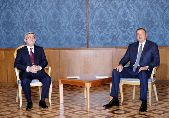 Date of Azerbaijani and Armenian presidents' meeting made public