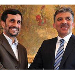 President Ahmadinejad officially welcomes Turkish counterpart