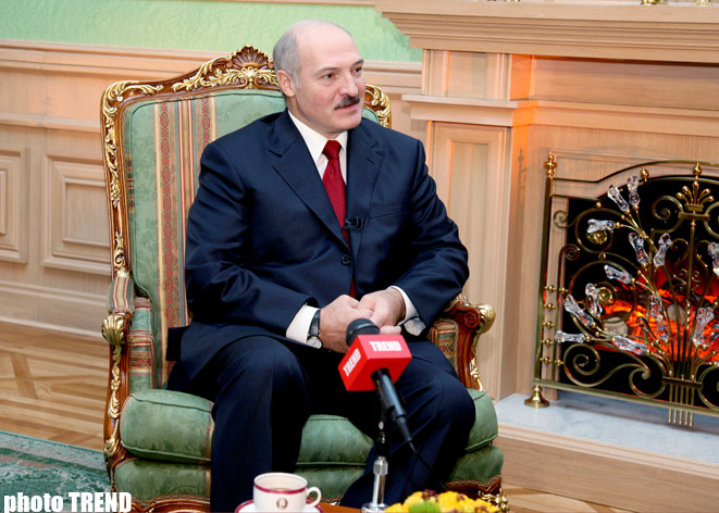 Lukashenko blames Russia for Minsk's failure to recognize Abkhazia, S.Ossetia