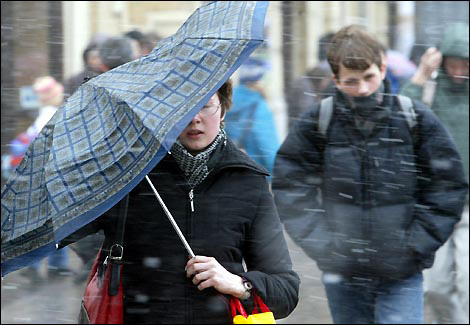 Завтра в Азербайджане будет дождливо и холодно
