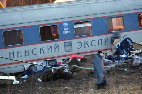 Islamists claim responsibility for Russia train bombing