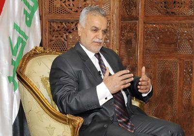 "Iraqi vice president ""worried"" by coalition talks in Iran"