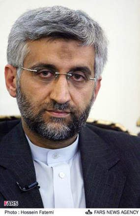 Iran's Jalili meets with Syrian VP in Tehran