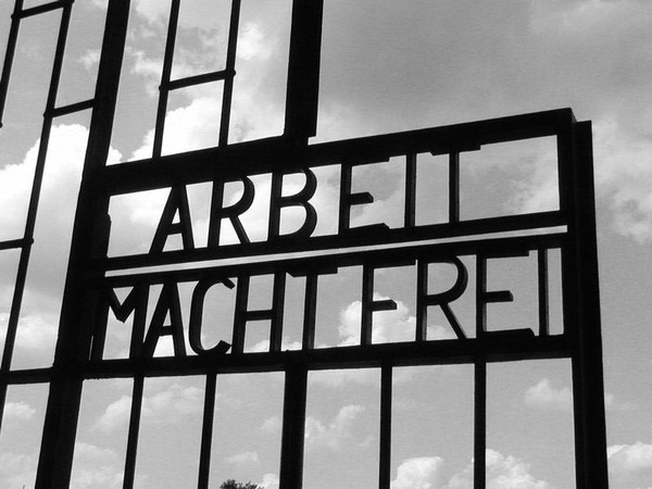 Historical Auschwitz sign recovered, five arrested