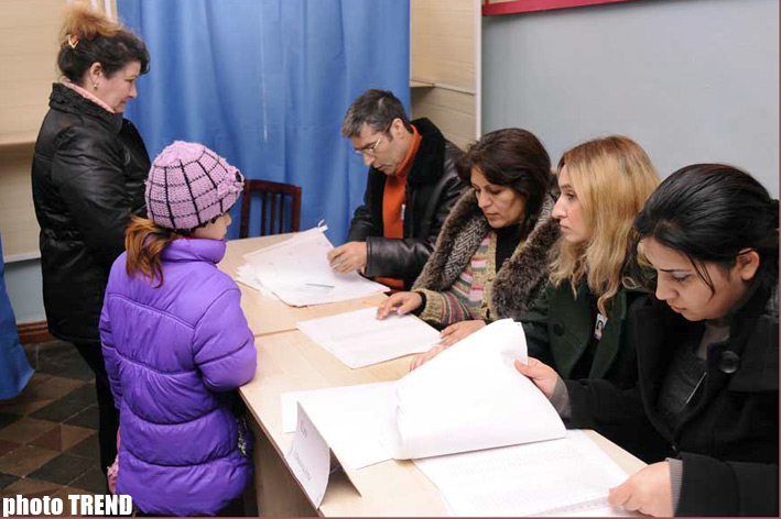 Voter turnout in Azerbaijani municipal elections hits 8.77 percent as of 10.00: CEC