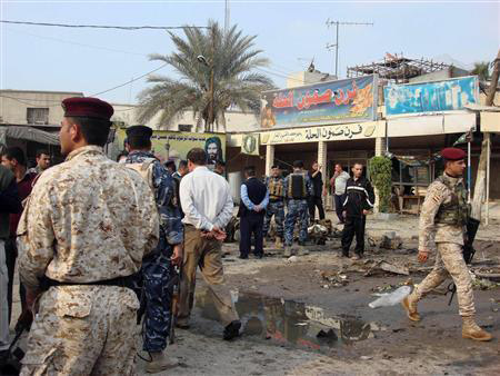 Journalist, 11 others killed in Iraq suicide bombing