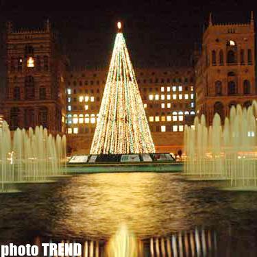 В Азербайджане отмечают Новый Год
