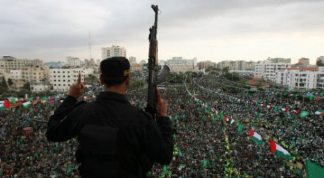 Hamas vows never to recognise Israel at anniversary celebration