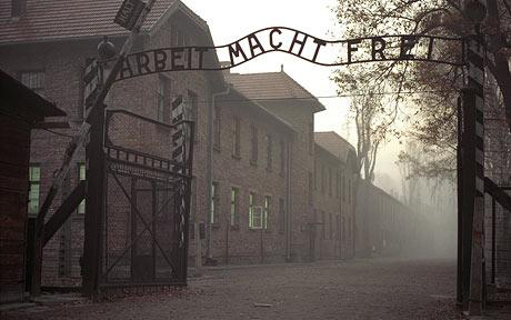Sweden asked to aid Polish probe into Auschwitz sign theft