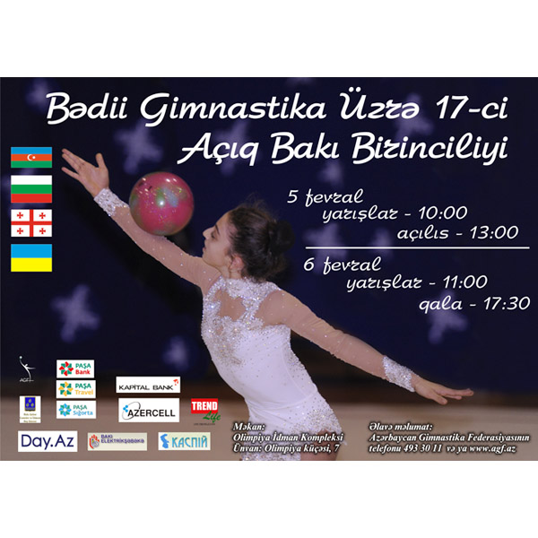 Baku to host Open Rhythmic Gymnastics Championship