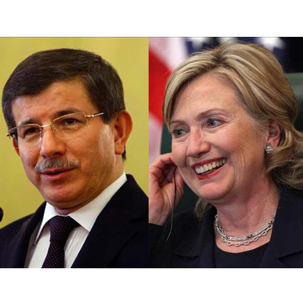 """Davutoglu thanks Clinton for French """"genocide"""" bill remarks"""