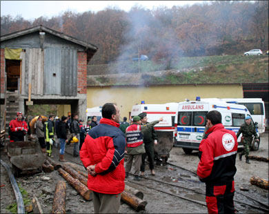 30 Workers Trapped After Coal Mine Explosion In Northern Turkey