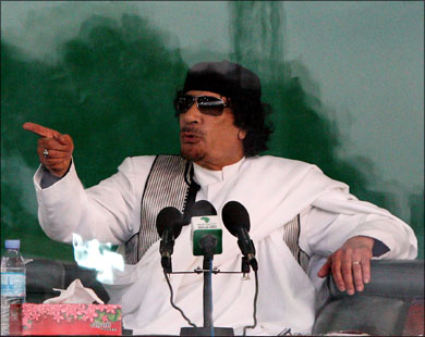 Report: Geneva agrees to pay Gaddafi compensation