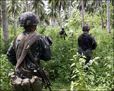 Two US citizens, Filipino relative abducted in southern Philippines