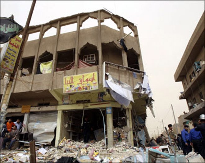 14 killed in jewelry stores robbery in Baghdad