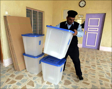 Iraqi military officer sacked for voter-intimidation