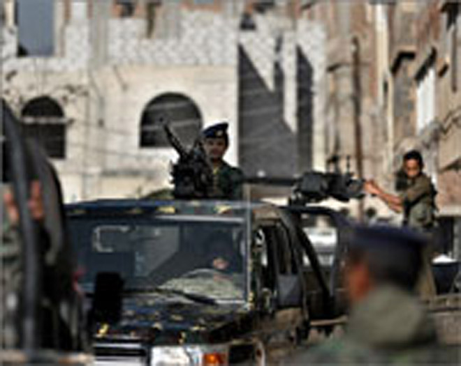 Gunfire erupts at Yemen hospital, clashes hit south