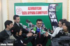 Azerbaijan Red Crescent Society: 'We intend to implement donations policy' (PHOTO) - Gallery Thumbnail
