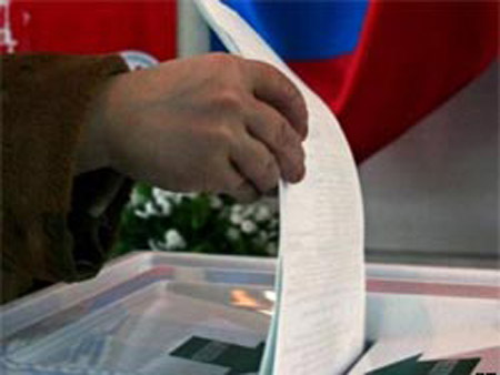 Russia's election commission says voter turn-out moderate