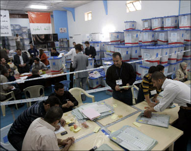 Iraqi officials reject European claims of election fraud