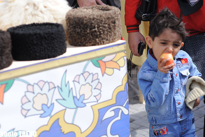 Azerbaijan marks Novruz holiday - photosession - Gallery Image