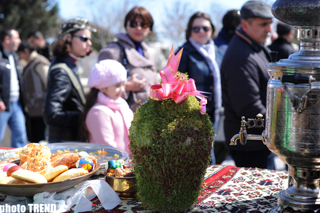 Azerbaijan marks Novruz holiday - photosession