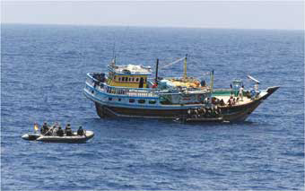 Iran Navy saves oil tanker from pirates