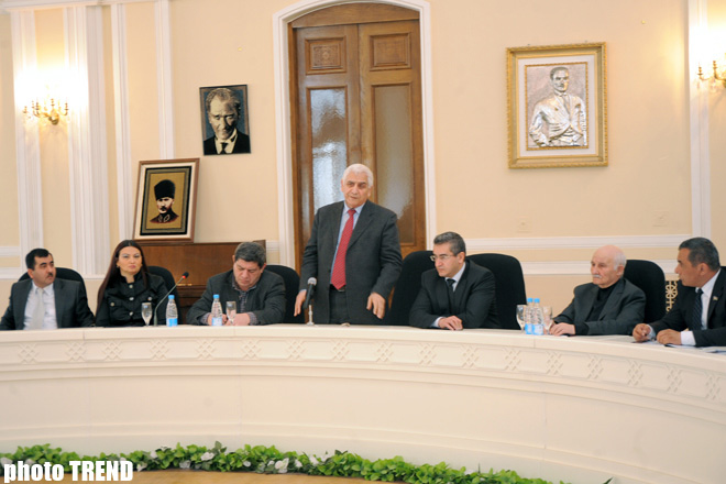 Book on genocide presented in Azerbaijan (PHOTO) - Gallery Image