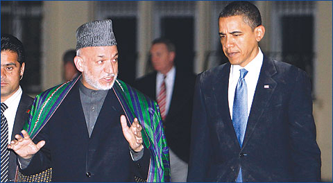 Obama seeks to reassure Karzai over McChrystal departure