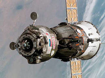 Soyuz undocks from space station after day-long delay