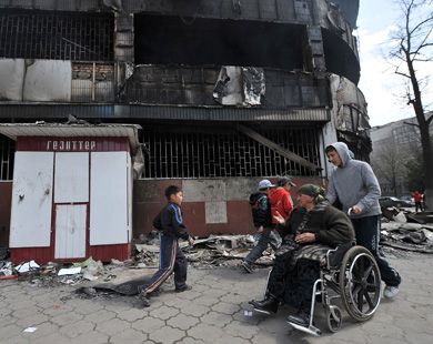 70 per cent of Osh city (Kyrgyzstan) area burnt down