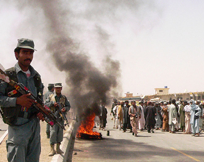 At least 10 Afghans killed in three bomb blasts in Kandahar