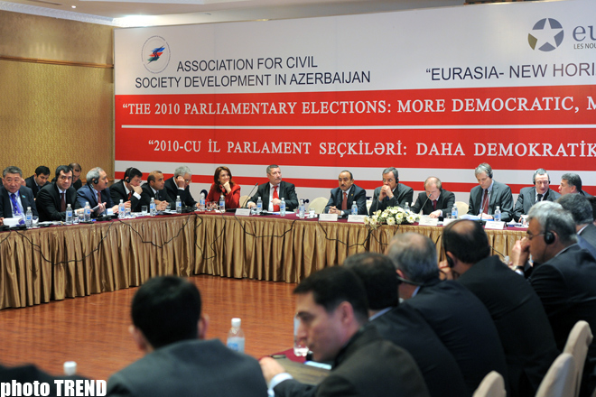 Azerbaijani official: Country to prevent use of state funds for certain political forces in elections (PHOTO) - Gallery Image