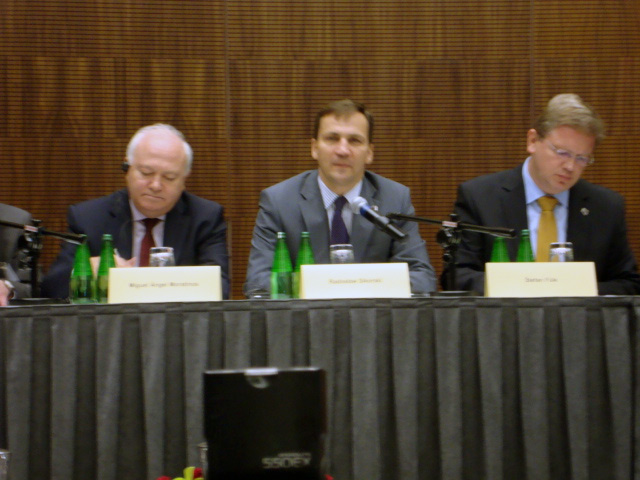 The first informal meeting of EU foreign ministers and partner countries organized by Poland, Spain and EU evaluated as successful (PHOTO)
