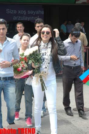 """Азербайджанская участница """"Евровидения"""" отмечает юбилей: """"Люблю вас всех!"""" (фото) - Gallery Image"""