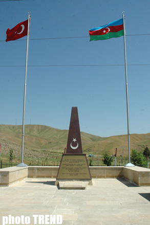 "Monument to ""Tomb of Turkish Unknown Soldier"" unveiled (PHOTO) - Gallery Image"