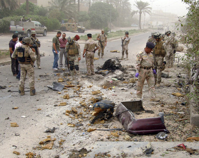 Seven dead in string of attacks on Iraqi security forces