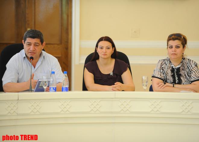Azerbaijani professor's book presented in Baku (PHOTO) - Gallery Image