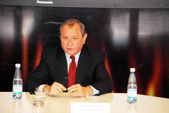 Stratfor head delivers report at ADA