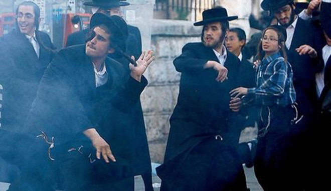 Hundreds of ultra-Orthodox Israelis riot to protest excavations