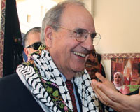 Mitchell arrives in Ramallah for talks with Abbas