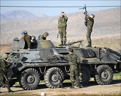 Turkish professional forces to protect borders