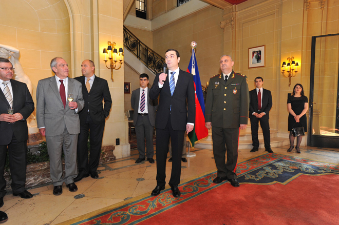 Brussels marks 92nd anniversary of Azerbaijani Armed Forces (PHOTO)
